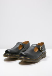 Dr. Martens - POLLEY - Loaferit/pistokkaat - black - 3