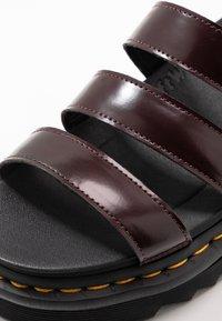 Dr. Martens - BLAIRE - Platform sandals - cherry red oxford - 5