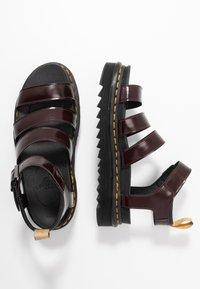Dr. Martens - BLAIRE - Platform sandals - cherry red oxford - 1