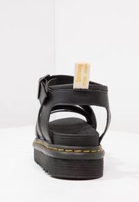 Dr. Martens - BLAIRE - Korkeakorkoiset sandaalit - black felix - 4