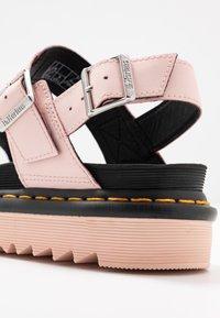 Dr. Martens - VOSS - Platform sandals - pink salt - 2