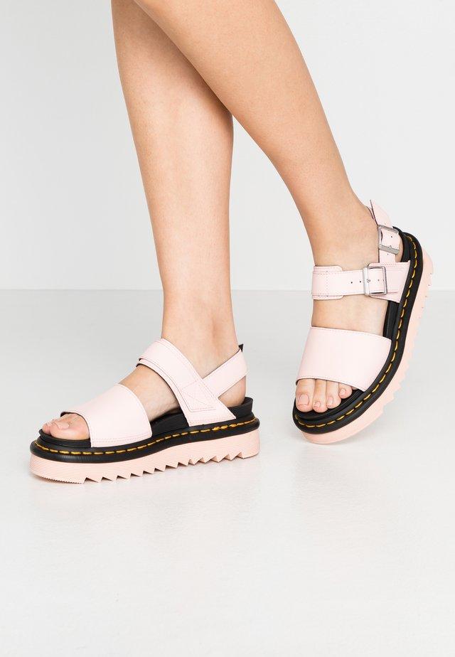 VOSS - Korkeakorkoiset sandaalit - pink salt