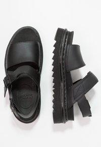 Dr. Martens - VOSS - Korkeakorkoiset sandaalit - black - 2