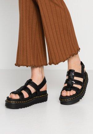 YELENA  - Sandalias con plataforma - black