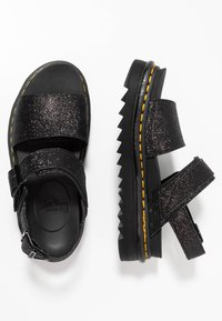 Dr. Martens - VOSS - Korkeakorkoiset sandaalit - black fine - 3