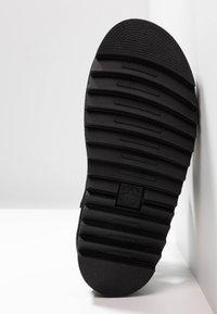 Dr. Martens - VOSS - Korkeakorkoiset sandaalit - black fine - 6