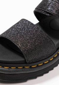 Dr. Martens - VOSS - Korkeakorkoiset sandaalit - black fine - 2