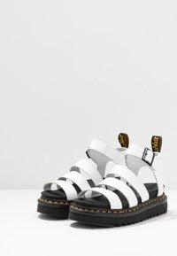 Dr. Martens - BLAIRE - Platform sandals - white hydro - 4