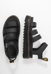 Dr. Martens - BLAIRE - Korkeakorkoiset sandaalit - black - 3