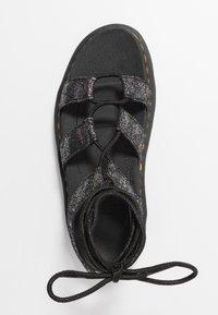 Dr. Martens - NARTILLA  - Platform sandals - gunmetal/iridescent - 3