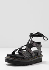 Dr. Martens - NARTILLA  - Platform sandals - gunmetal/iridescent - 4