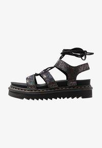 Dr. Martens - NARTILLA  - Platform sandals - gunmetal/iridescent - 1