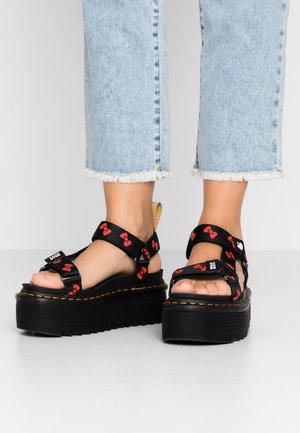 HELLO-KITTY - Platform sandals - black