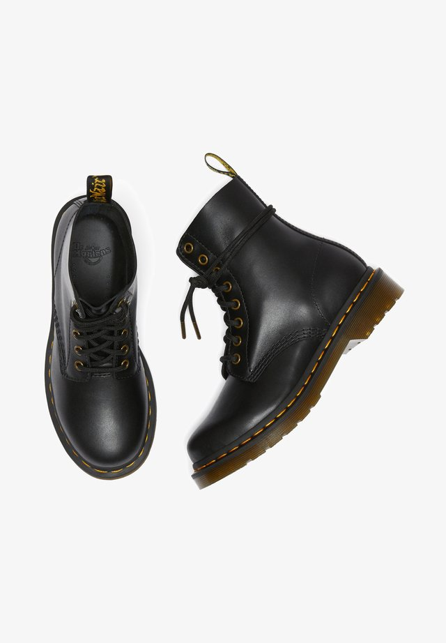 PASCAL WANAMA - Lace-up ankle boots - black