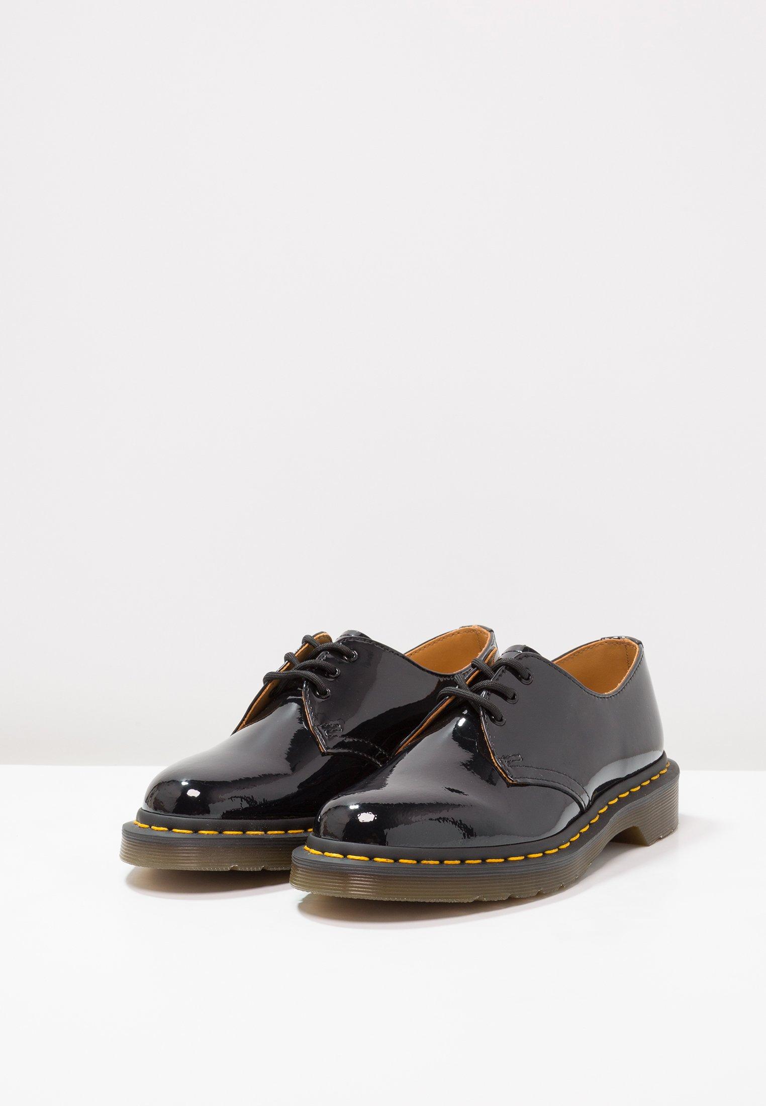 Dr. Martens 1461 3 Eye Shoe Patent Lamper - Snörskor Black