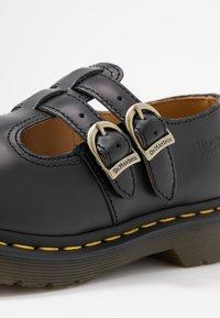 Dr. Martens - 8065 MARY JANE - Scarpe senza lacci - black - 2