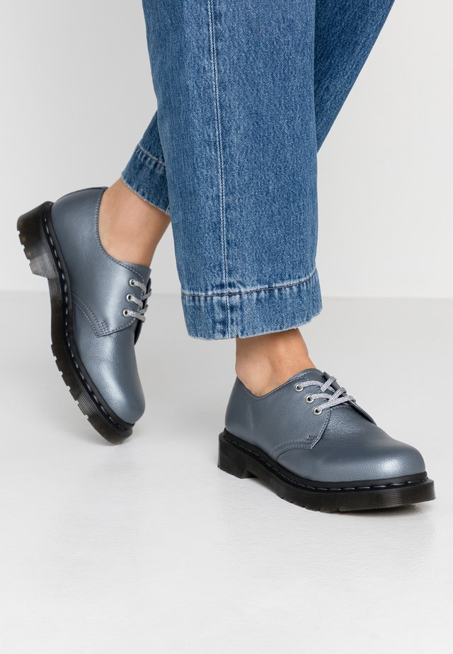 Šněrovací boty - gunmetal metallic virginia