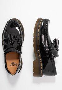 Dr. Martens - ADRIAN - Scarpe senza lacci - black - 3