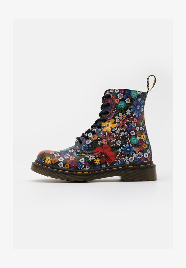 1460 PASCAL - Lace-up ankle boots - multicolor