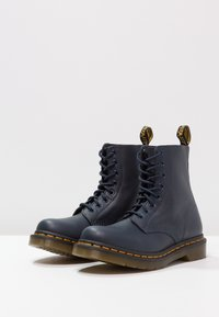 Dr. Martens - 1460 PASCAL 8 EYE BOOT  - Lace-up ankle boots - dress blue - 3