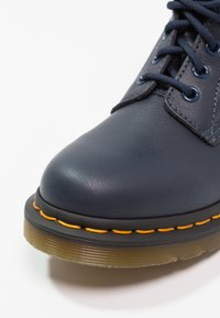 Dr. Martens - 1460 PASCAL 8 EYE BOOT  - Lace-up ankle boots - dress blue - 6