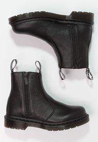 Dr. Martens - 2976 W/ZIPS CHELSEA BOOT - Nilkkurit - black - 2
