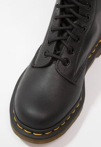 Dr. Martens - 1490 10 EYE VIRGINIA - Lace-up ankle boots - black - 6