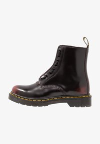 Dr. Martens - 1460 PASCAL FRNT ZIP 8 EYE BOOT - Lace-up ankle boots - cherry red arcadia - 1