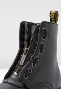 Dr. Martens - 1460 PASCAL FRNT ZIP 8 EYE BOOT - Lace-up ankle boots - black - 2