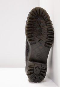 Dr. Martens - SHRIVER HI 8 EYE BOOT - Platform ankle boots - black - 6