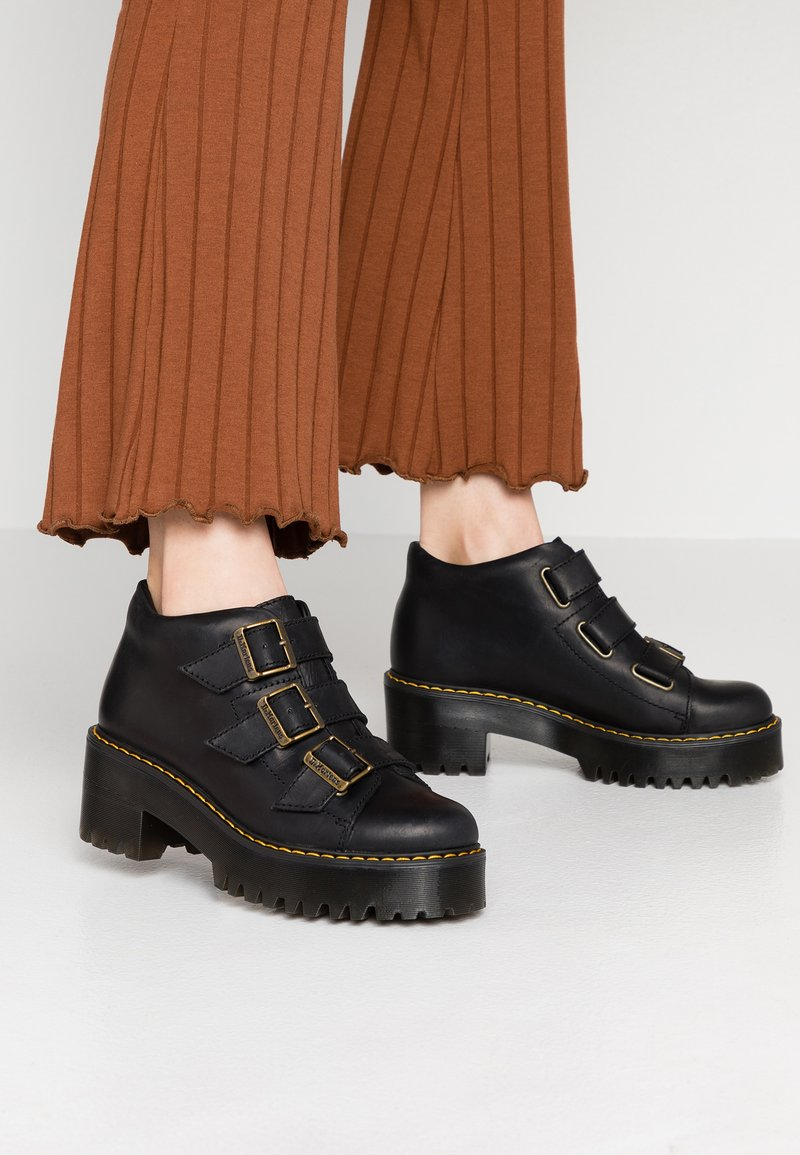 Dr. Martens - COPPOLA TIE - Ankle boots - black wyoming