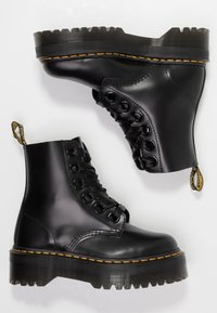Dr. Martens - MOLLY - Plateaustiefelette - black - 3