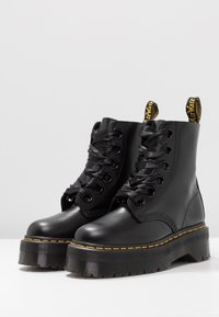 Dr. Martens - MOLLY - Plateaustiefelette - black - 4