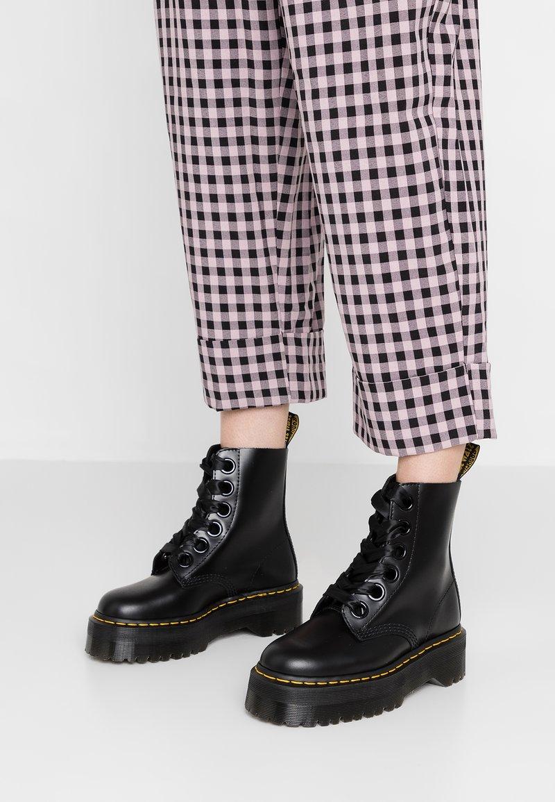 Dr. Martens - MOLLY - Platform ankle boots - black