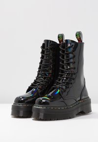 Dr. Martens - JADON  - Bottines à plateau - black/rainbow - 4