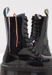 Dr. Martens - JADON  - Bottines à plateau - black/rainbow - 7