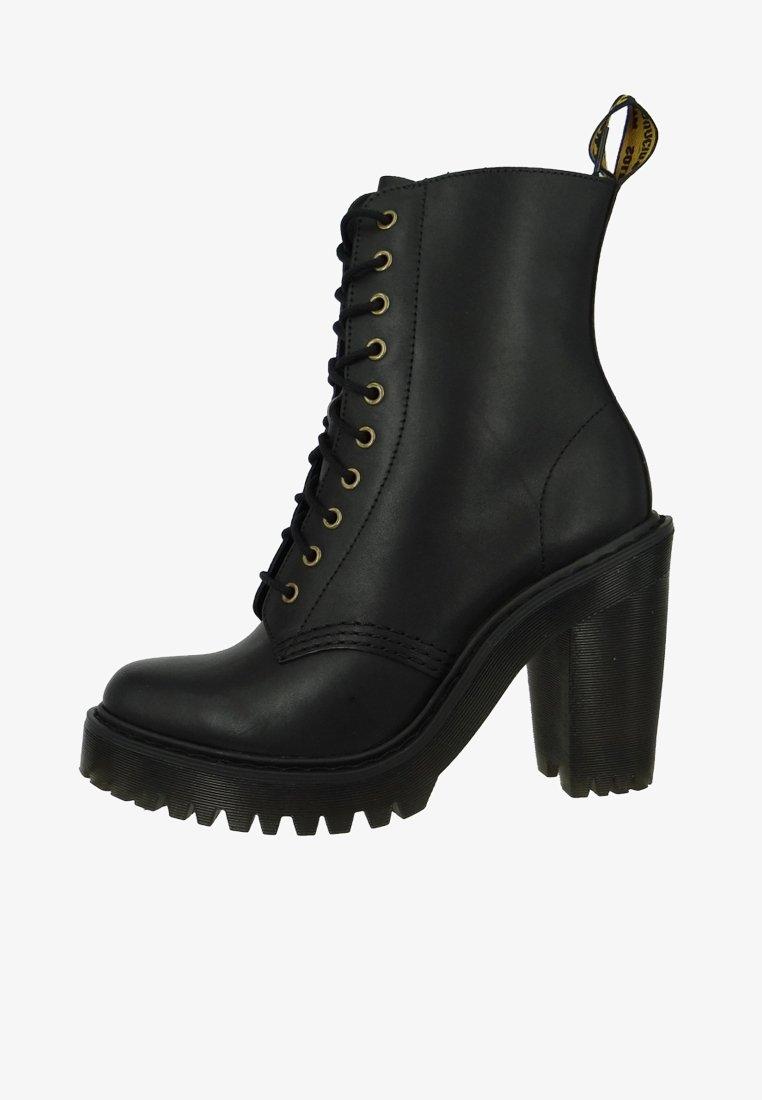 Dr. Martens - SEIRENE KENDRA SENDAL - Kotníková obuv na vysokém podpatku - black