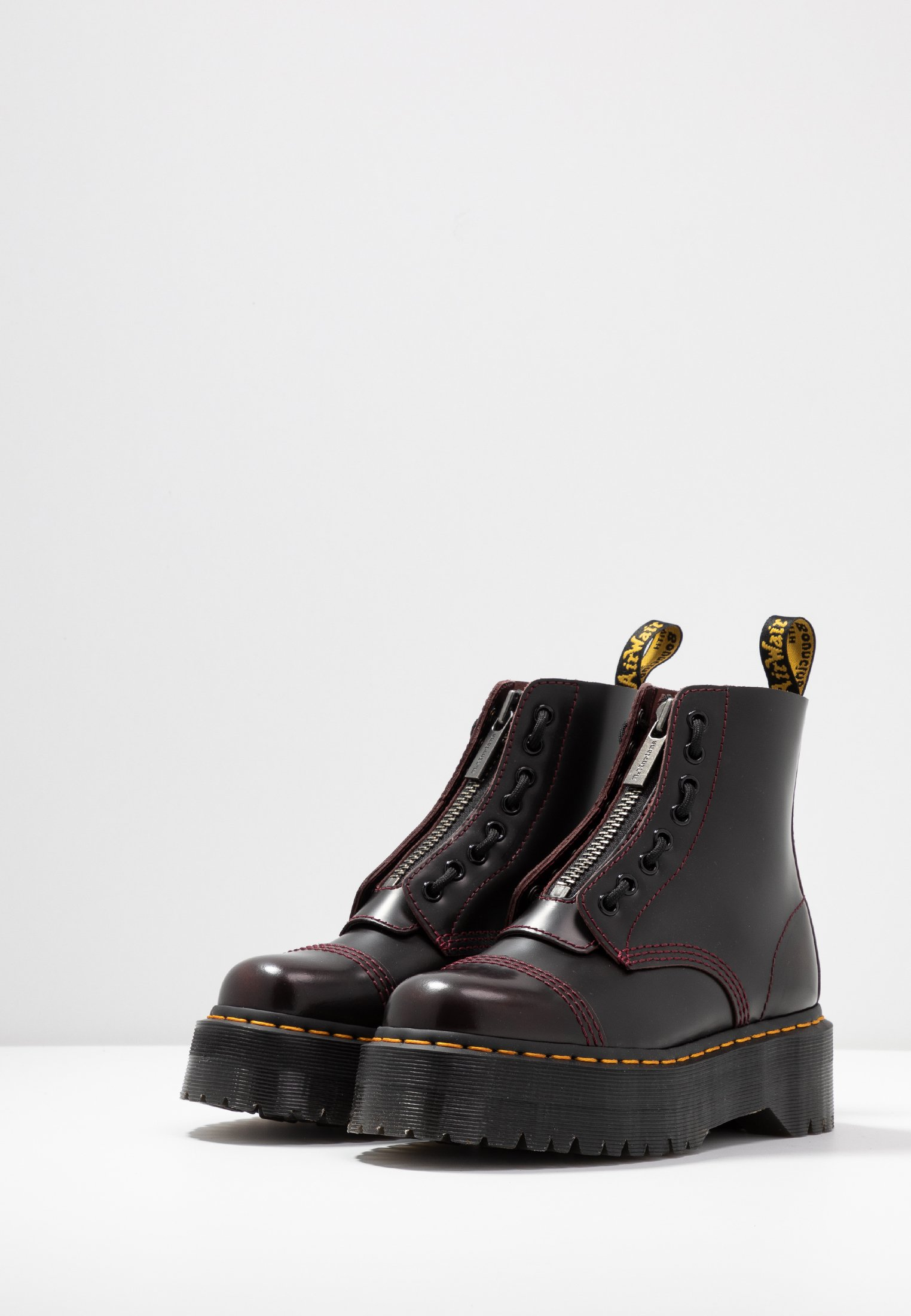 Dr. Martens SINCLAIR Bottines à plateau cherry red