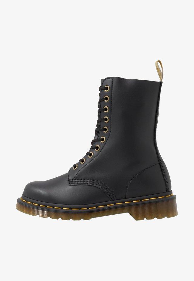 VEGAN 1490 - Lace-up ankle boots - black