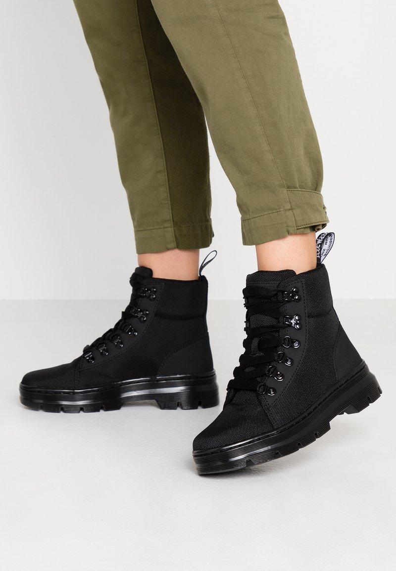 Dr. Martens - COMBS - Platform ankle boots - black