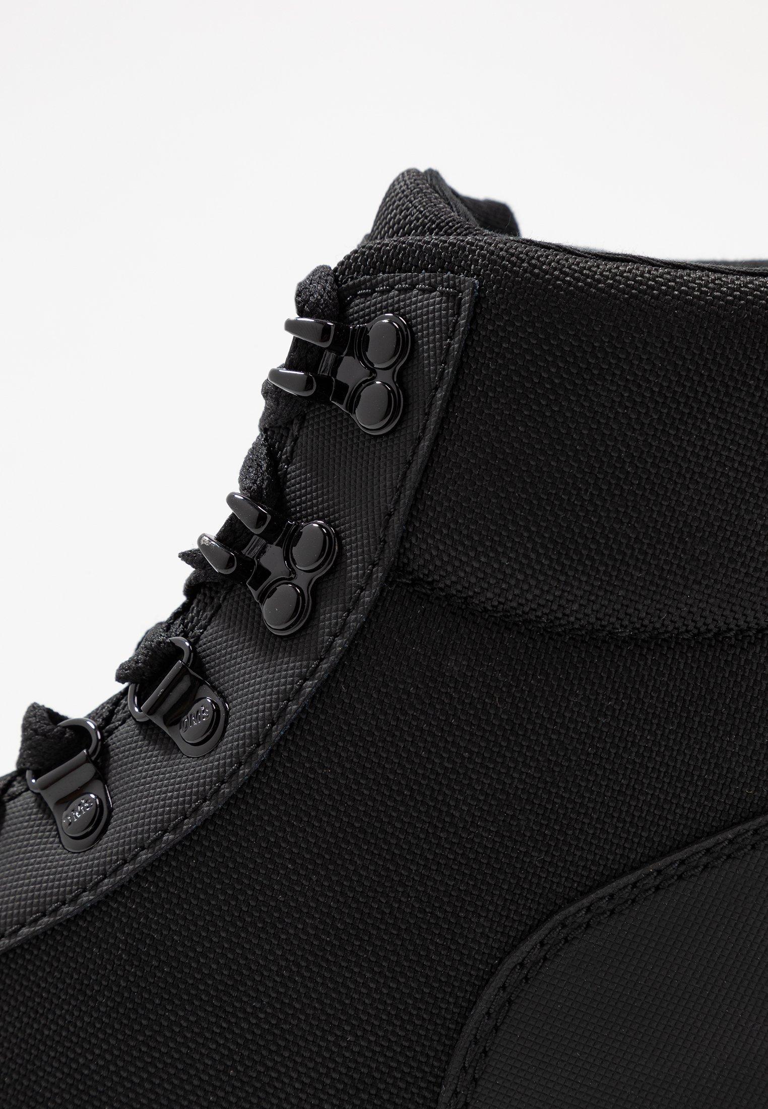 Dr. Martens COMBS - Plateaustøvletter - black