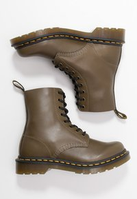 Dr. Martens - 1460 PASCAL - Lace-up ankle boots - olive - 3