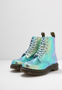 Dr. Martens - 1460 PASCAL - Lace-up ankle boots - blue iridescent - 4