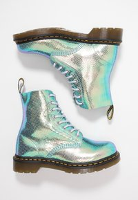 Dr. Martens - 1460 PASCAL - Lace-up ankle boots - blue iridescent - 3