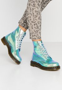 Dr. Martens - 1460 PASCAL - Lace-up ankle boots - blue iridescent - 0