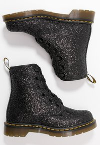 Dr. Martens - 1460 FARRAH - Lace-up ankle boots - black chunky glitter - 3