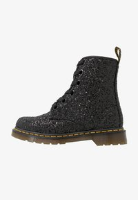 Dr. Martens - 1460 FARRAH - Lace-up ankle boots - black chunky glitter - 1