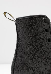 Dr. Martens - 1460 FARRAH - Lace-up ankle boots - black chunky glitter - 2
