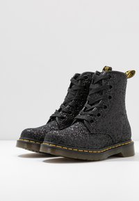 Dr. Martens - 1460 FARRAH - Lace-up ankle boots - black chunky glitter - 4