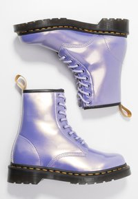 Dr. Martens - 1460 VEGAN 8 EYE BOOT - Lace-up ankle boots - purple heather/opaline - 3